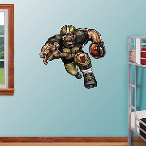 Surging Saint Fathead Wall Decal